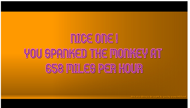 Gabriel spank the monkey error